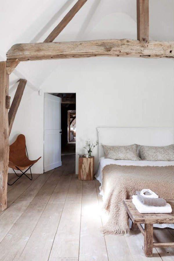 houten balken in de slaapkamer | homease, Deco ideeën