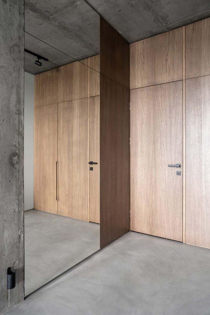 houten deur interieur