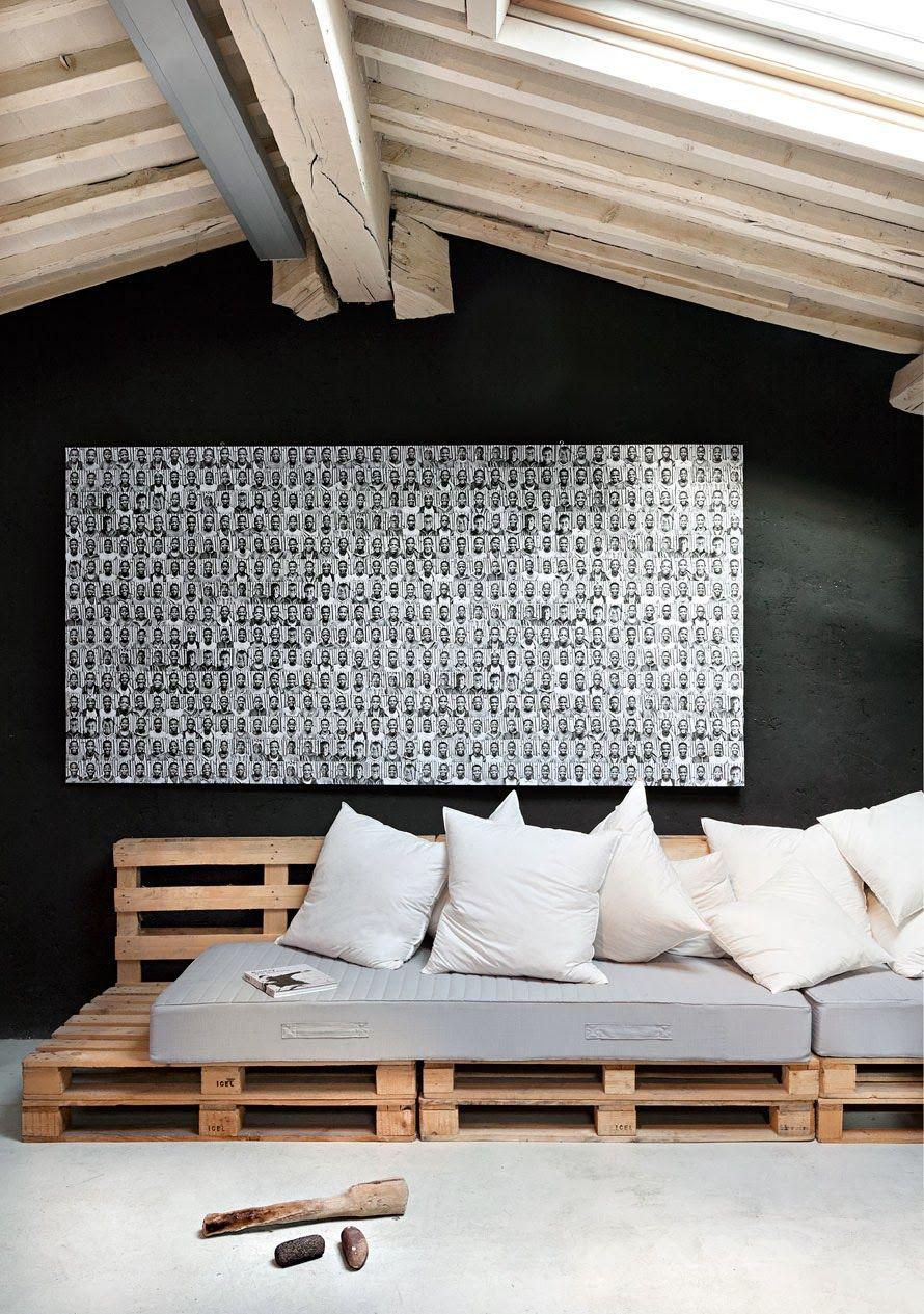houten paletten banken en bedden