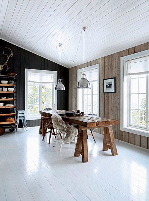 houten plafond homease