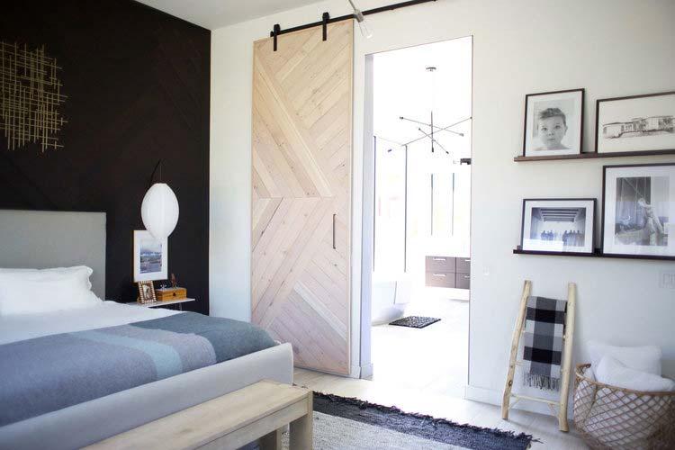 houten schuifdeur maken patroon