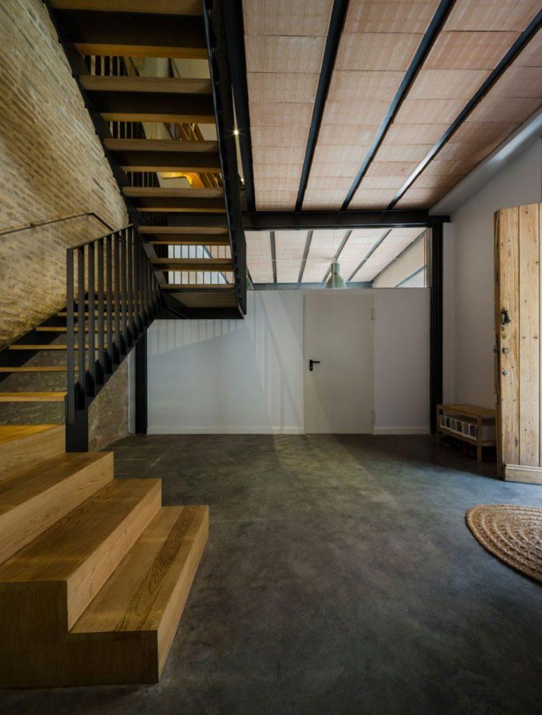 houten-stalen-trap