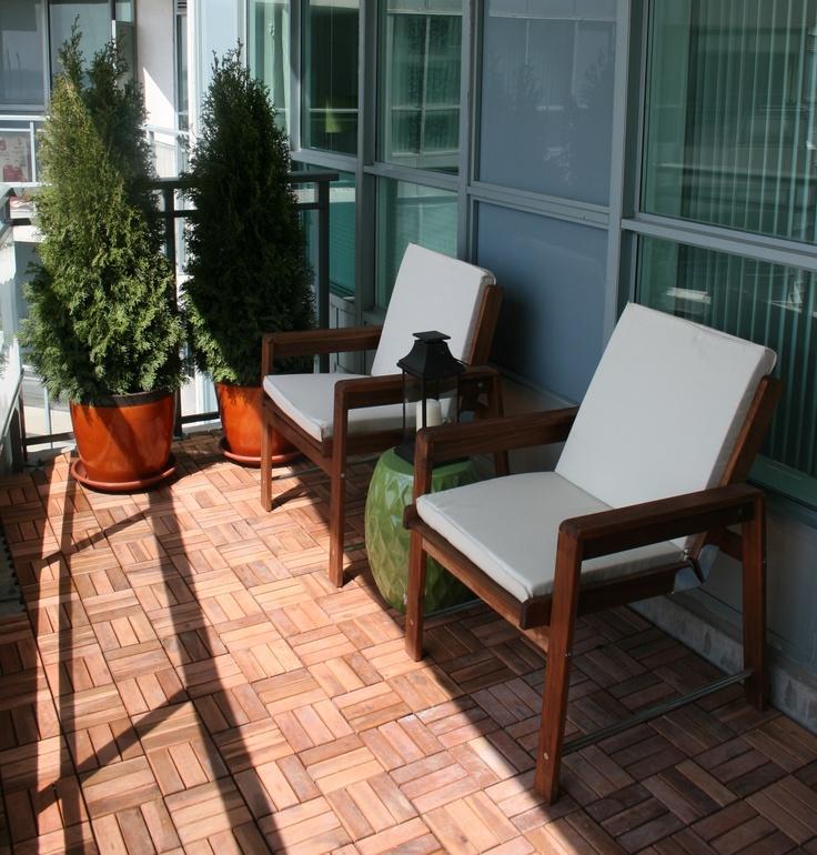 Favoriete 10x IKEA vlonders op balkon | HOMEASE FE05