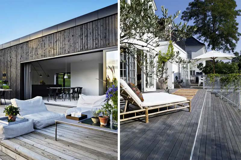 houten vlonder terras tuin