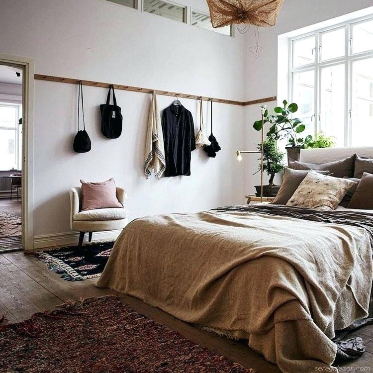 houten wandkapstok slaapkamer