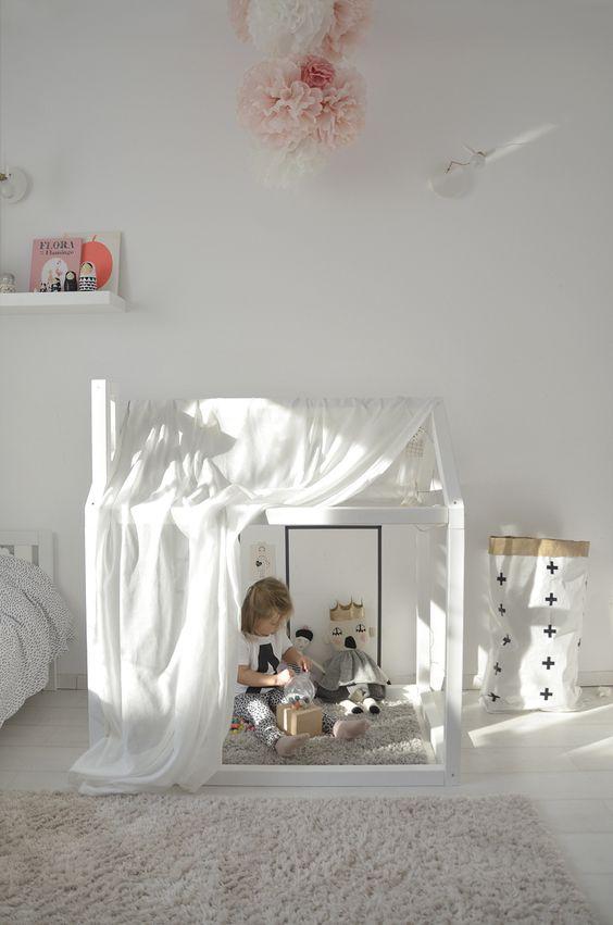 Een huisje in de kinderkamer