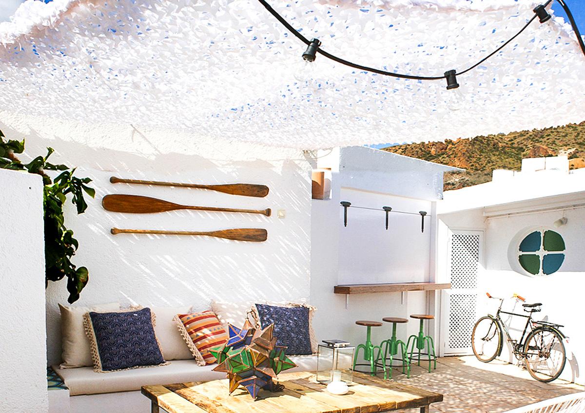 Ibiza sfeer op het dakterras homease