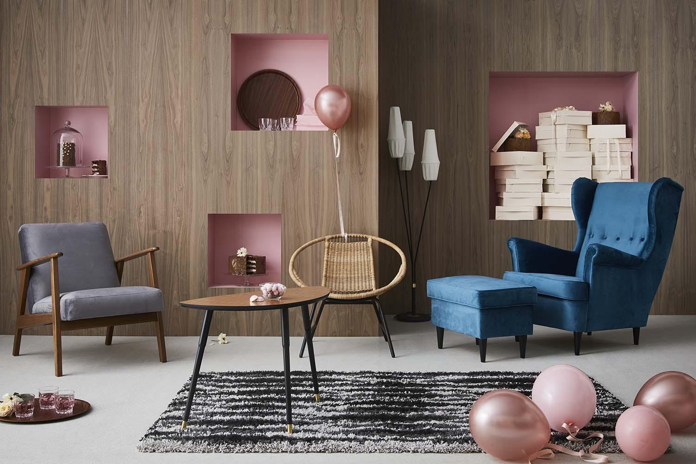 IKEA GRATULERA vintage collectie