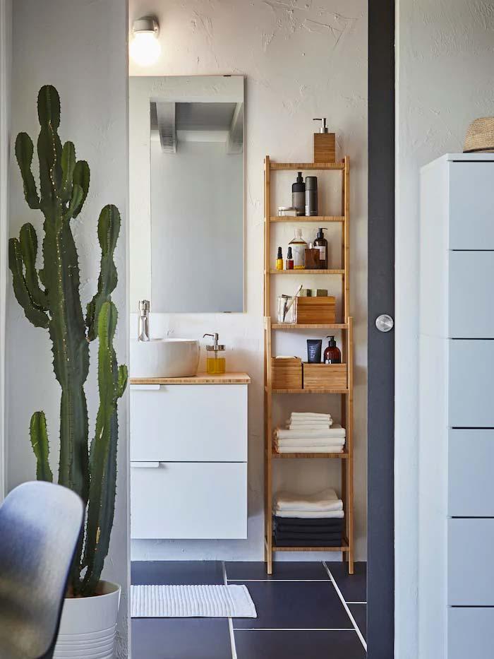 ikea bamboe badkamer
