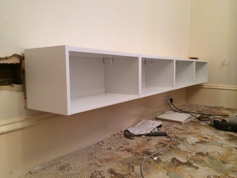 Zwevende Wandkast Ikea.Ikea Billy Boekenkast Hack In De Woonkamer Homease