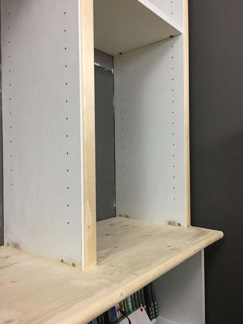 Ikea Billy Boekenkast Hack In De Woonkamer Homease