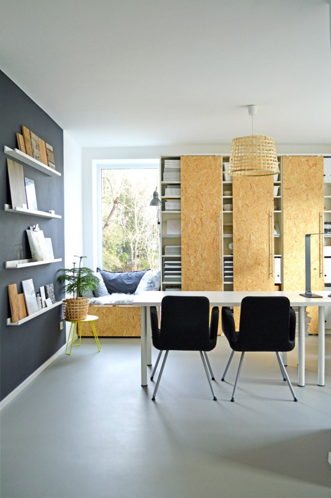 IKEA Billy boekenkast hack met OSB schuifdeuren | HOMEASE