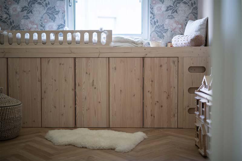 IKEA IVAR hack bed
