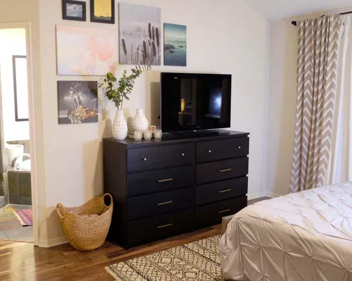 ikea ladekast hack malm tv meubel