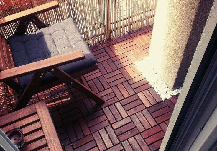 10 Mooie Balkons : Ikea vlonders op balkon homease