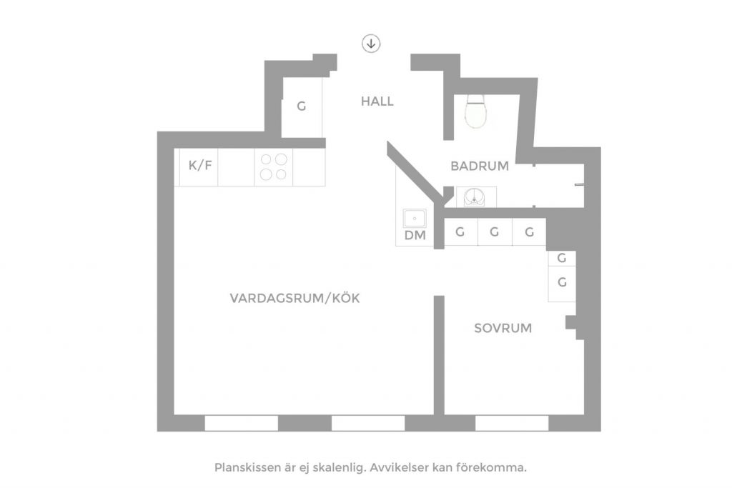indeling-klein-appartement