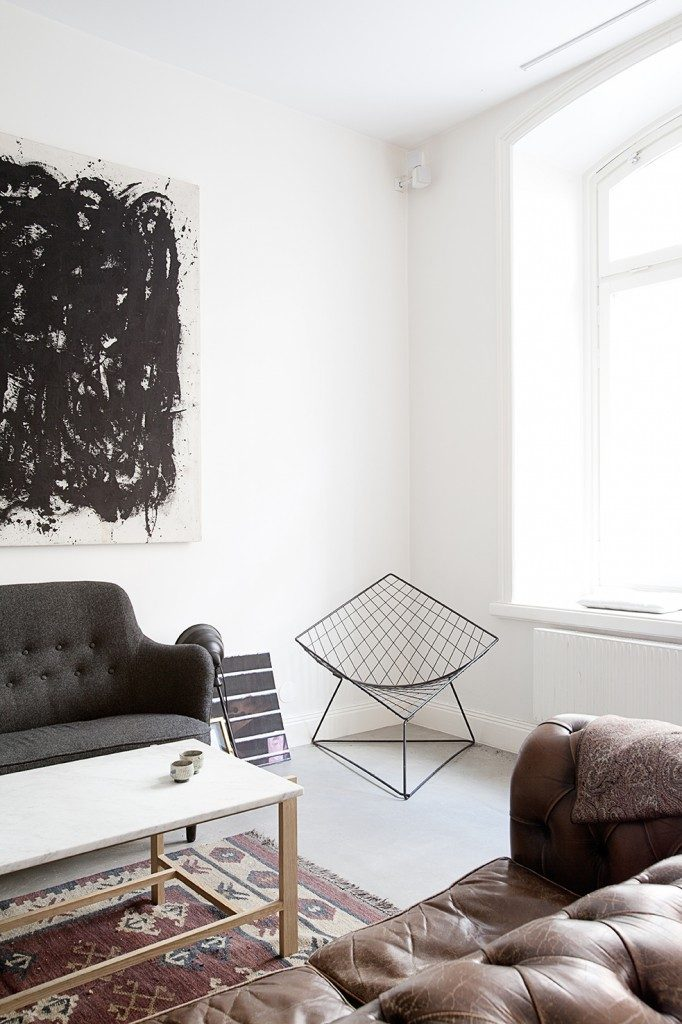 Tri Mix Interior : Industrieel appartement met vintage scandinavisch design