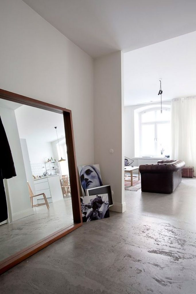 Industrieel appartement met vintage & Scandinavisch design