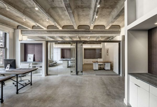 Industrieel Kantoor van projectontwikkelaar uit Boston