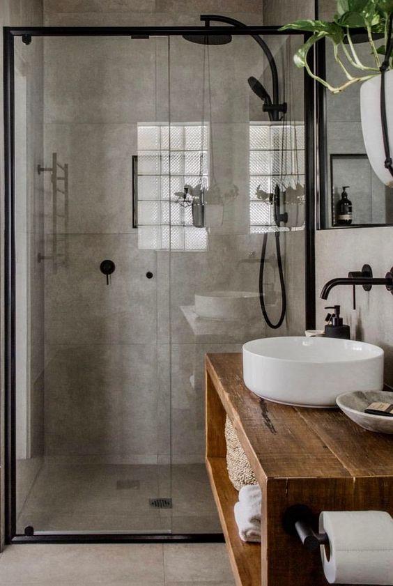 Stoer sanitair: de basis voor een industriële badkamer! | HOMEASE