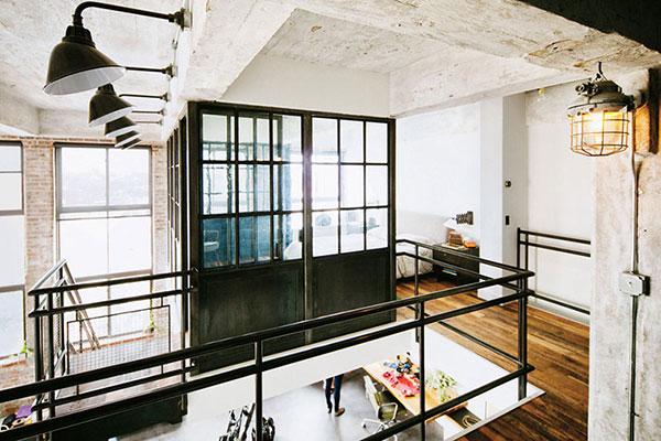 Stoere Industriele Loft : Industriële loft van van oprichter van tumblr homease
