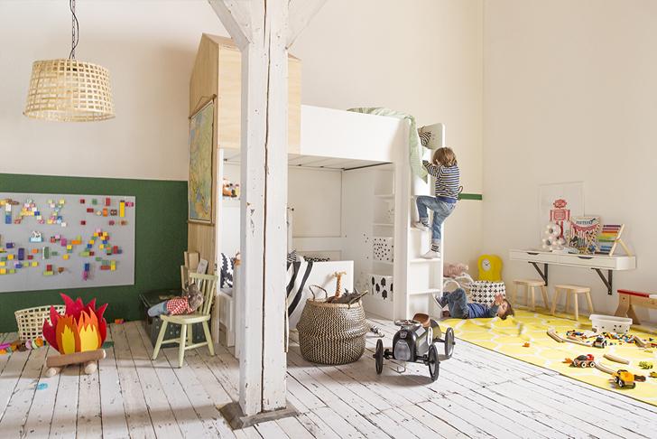 Voorkeur Inspiratie van IKEA voor een gedeelde kinderkamer | HOMEASE &AV29