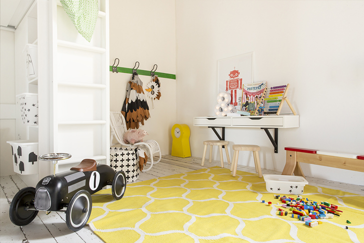 Populair Inspiratie van IKEA voor een gedeelde kinderkamer | HOMEASE @DR84
