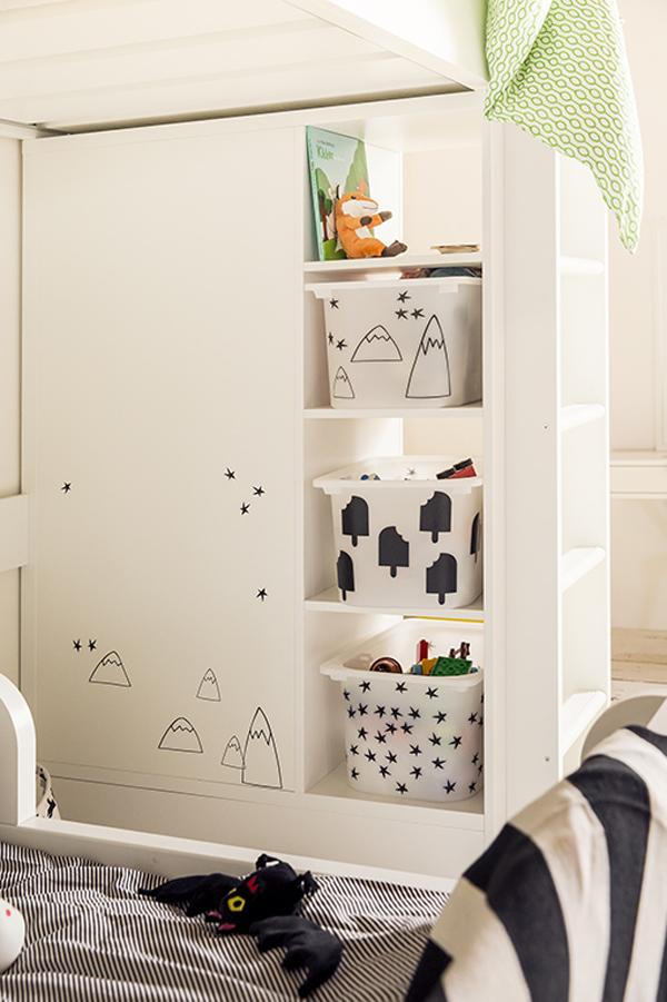 Top Inspiratie van IKEA voor een gedeelde kinderkamer | HOMEASE @TR27