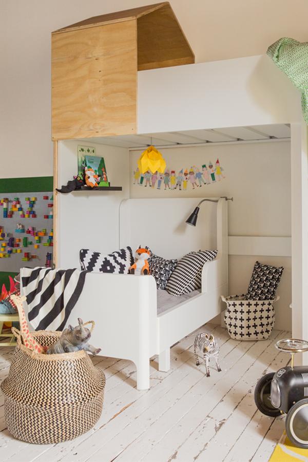 Magnifiek Inspiratie van IKEA voor een gedeelde kinderkamer | HOMEASE @OU26