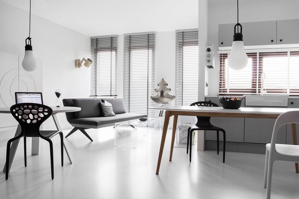 Inspriatie l-vormige woonkamer