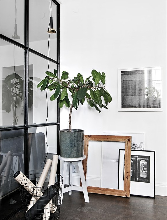 Inspirerend leuk ingericht klein appartement van 36m2 for Klein appartement design