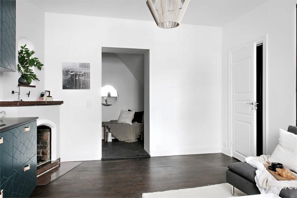 Inspirerend leuk ingericht klein appartement van m homease