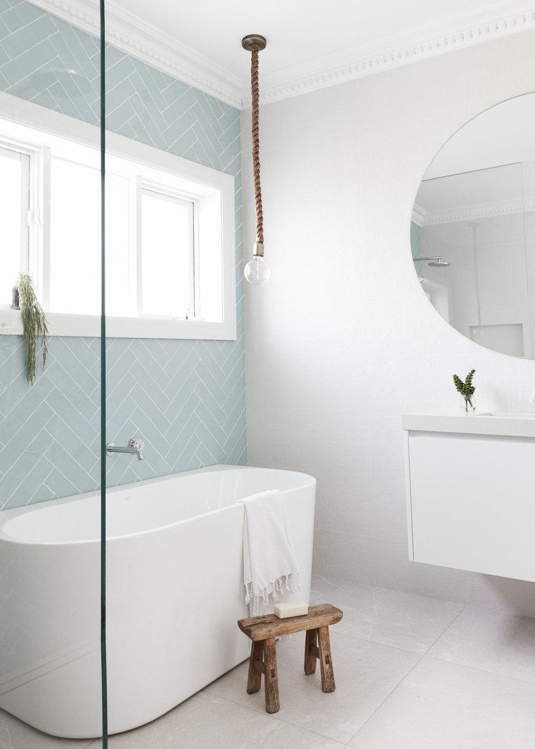 Inspirerende badkamerverbouwing van Lana