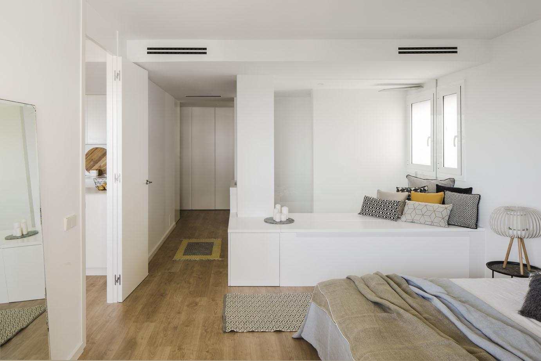 Inloopkast in badkamer : Inspirerende slaapkamer badkamer inloopkast combinatie homease