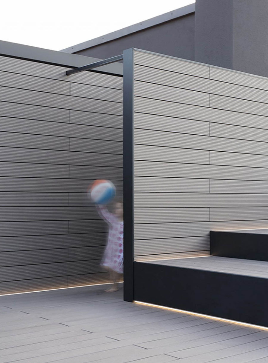 Inspirerende verbouwing van een ruim dakterras