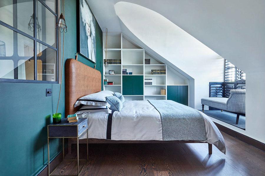 Slaapkamer Vintage Blue : Inspirerende vintage chique slaapkamer homease