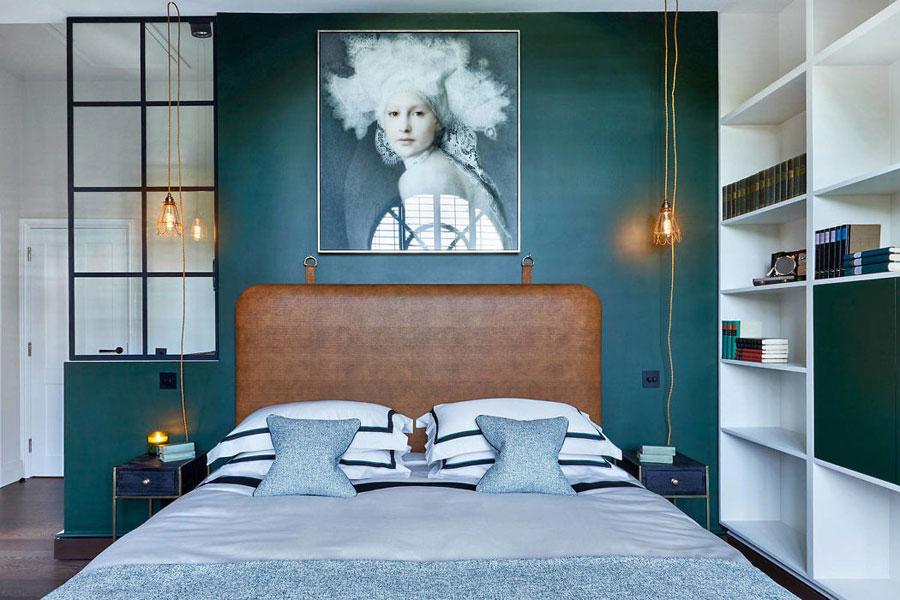 Inspirerende vintage chique slaapkamer