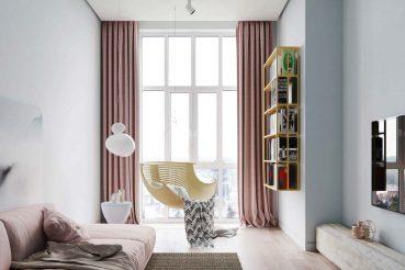 interieur pastelkleuren