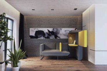 Jak studio's L20 sofa - de perfecte thuiswerkpod!