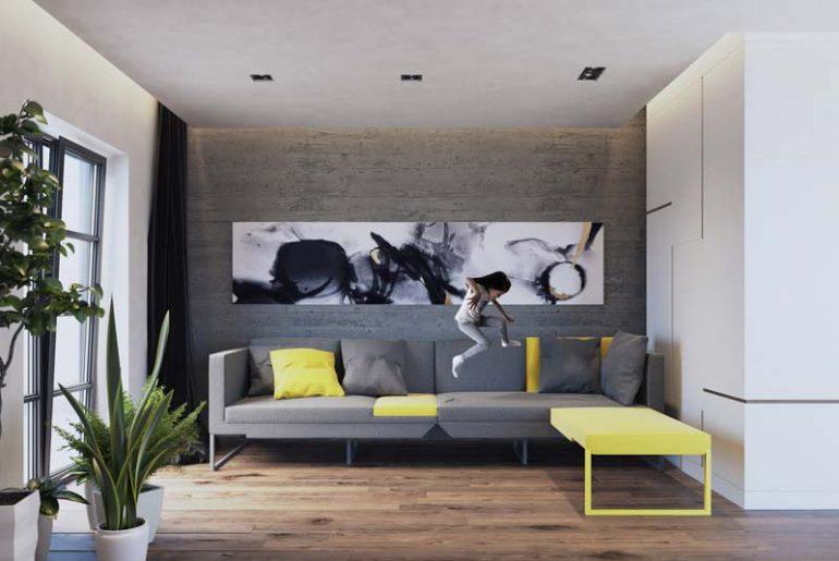 Jak studio's L20 sofa - de perfecte thuiswerkpod bank