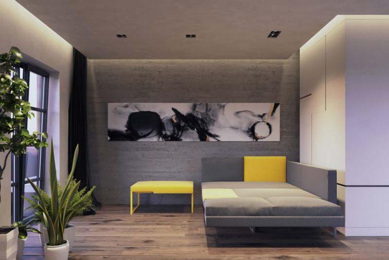 Jak studio's L20 sofa - de perfecte thuiswerkpod slaapbank