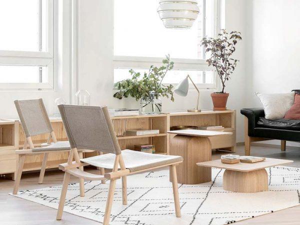 japandi interieur meubels