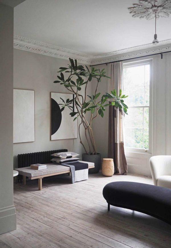 japandi interieur planten