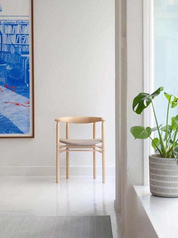 japandi interieur stoel