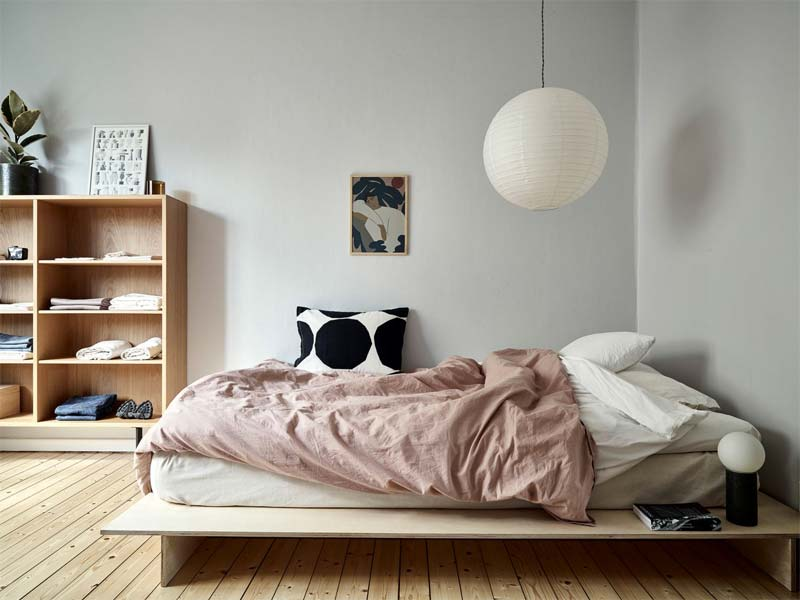japans interieur bed