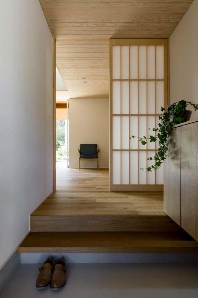 japans interieur hout
