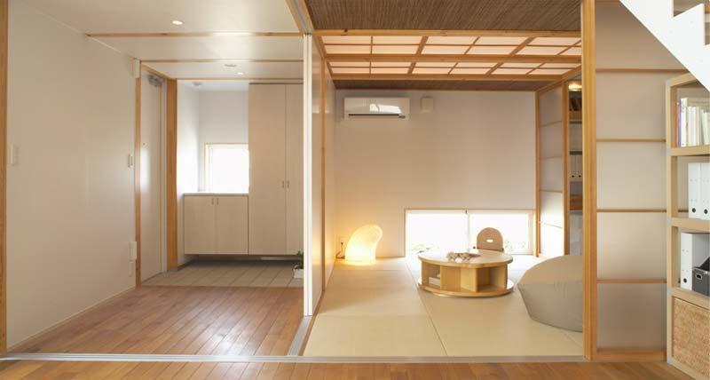japans interieur tatami matten