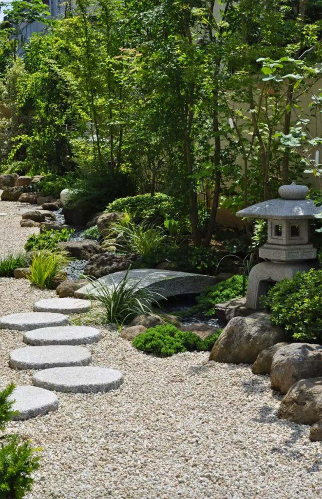 japanse tuin looppaden