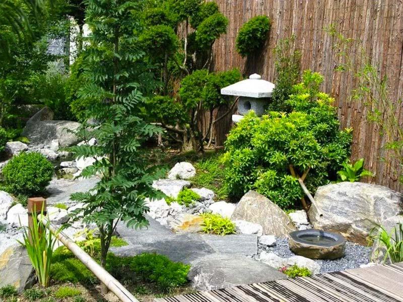 japanse tuin rotsen