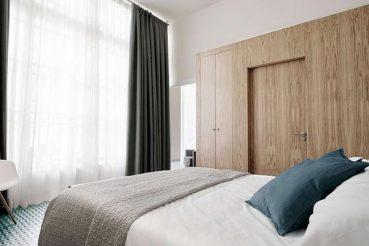 Karakteristiek slaapkamer ontwerp